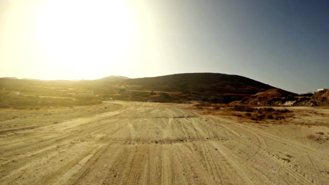 Offroad point of view driving video