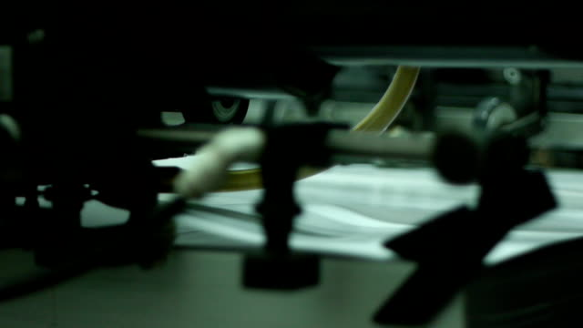Offset printing sequence video