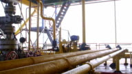 Offshore gas production platform components video