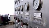 Offshore gas production platform equipment video