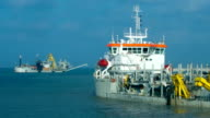 Offshore Special Purpose Dredger Ships Working on Field video