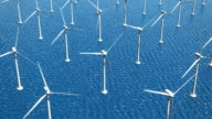 Offshore Wind Turbines (Loopable) video