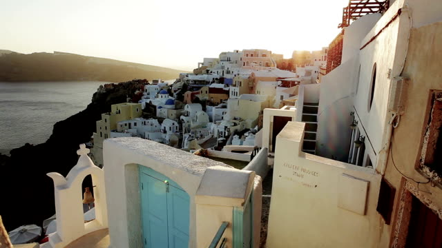 Oia after sunset video