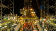 oil and gas drilling rig operation video