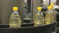 Oil bottles video