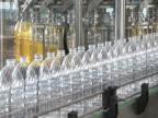 oil bottling conveyor video