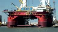 Oil Drilling Platform video