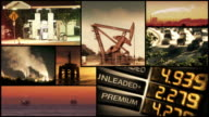 Oil, Gas Industry Montage video
