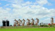 Oil industry in the field video
