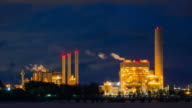 Oil refinery in zoom video