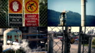 Oil Refinery Montage video