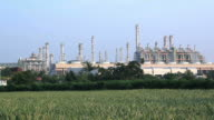 Oil Refinery Plant Working video