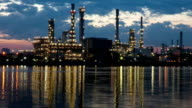 Oil refinery video