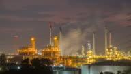 Oil refinery video