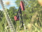 Oil Rig Just Pumping All Day video