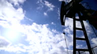 Oil rig. video