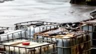 Oil spill on Gulf video