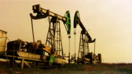 Oil wells video