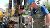 Oil Worker video