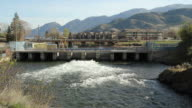 Okanagan Falls Flood Control Dam, British Columbia video
