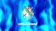 Oklahoma State Flag Animation video