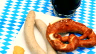 Oktoberfest White Sausage Pretzel video