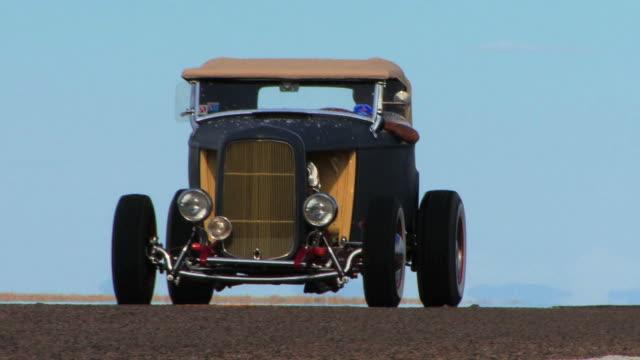 Old Blue Car HD video