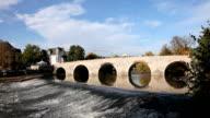 Old bridge in Wetzlar, Germany video