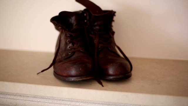Old brown boots English Style video