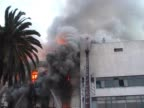 Old Building on Fire 03 video