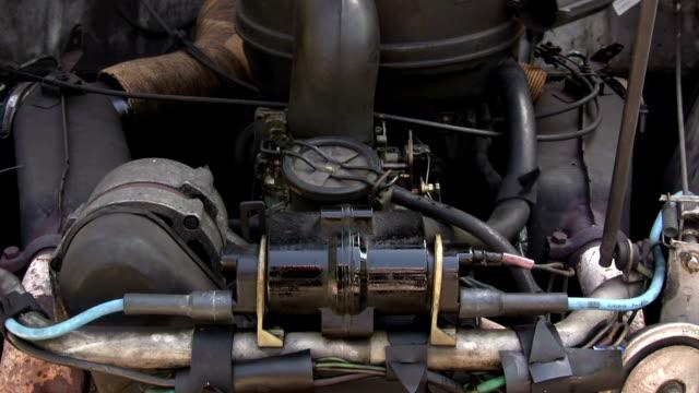 Old Car Engine video