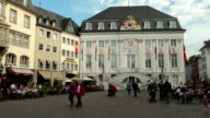 Old City hall - Rathaus Bonn, Germany video