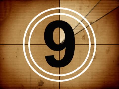 Old Countdown leader video