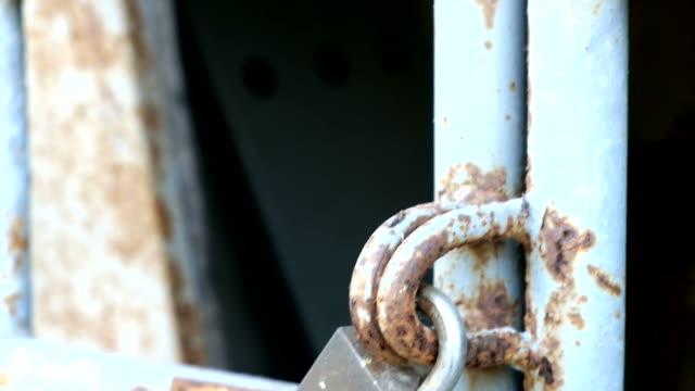 old door locked video
