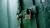Old Door Security Lock video