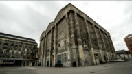 Old factory building time lapse video