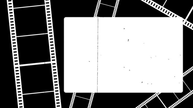 Old film background video