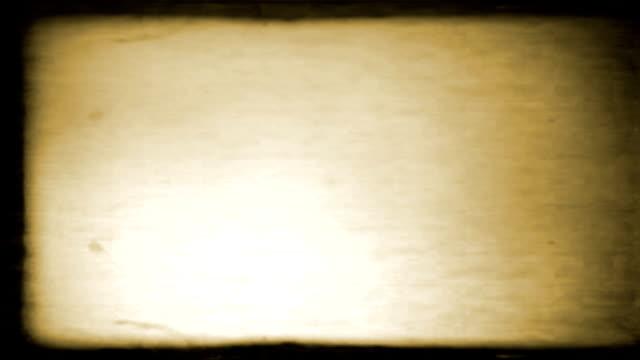 Old Film Look video