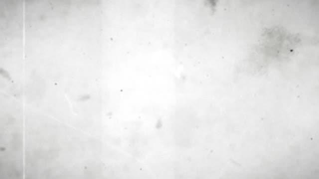 Old Film Loop - Black & White with Audio video