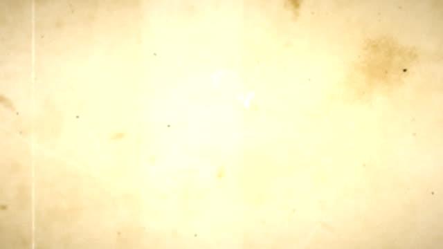 Old Film Loop - with Audio video