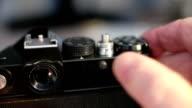 old film photocamera video