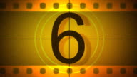 Old film\tcountdown with sound video