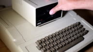 Old Floppy Disk Drive video