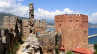 Old fortress, Alanya, Turkey video