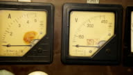 Old gauges isolated video