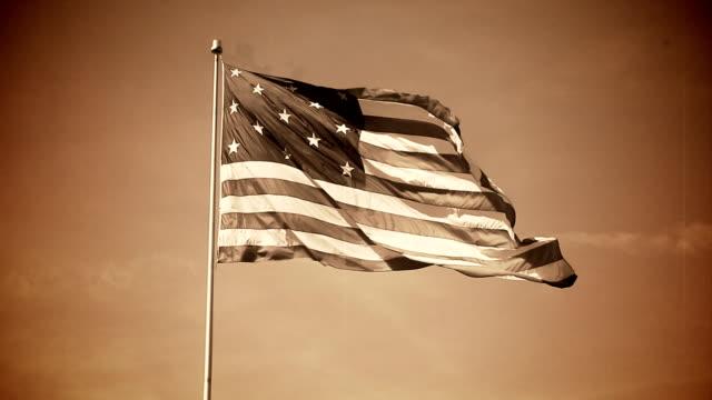 Old Glory 13-Star American Flag video