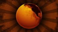 Old Grunge Earth HD video