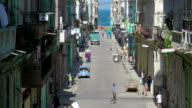 Old Havana Streets video