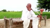 Old Men Enjoying Hookah video
