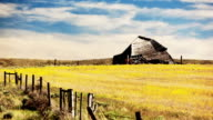 0044 Old Montana Barn Time Lapse 4K video